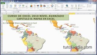 Excel Avanzado. 8.1 Mapas Regionales