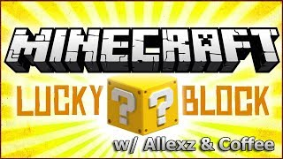 [ro] S2E01 - Minecraft - Lucky Block w/ Allexz & Coffee