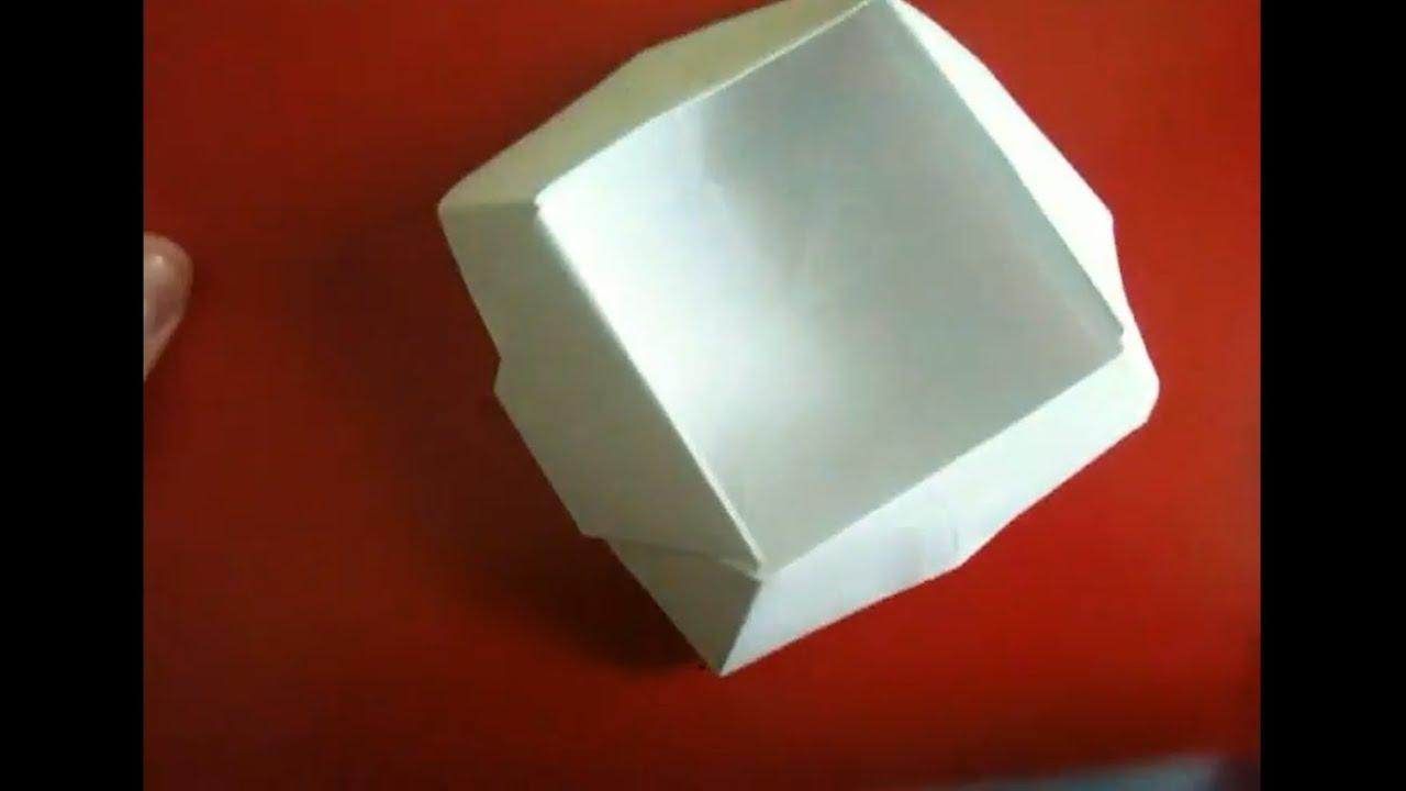 origami korb falten faltanleitung youtube. Black Bedroom Furniture Sets. Home Design Ideas