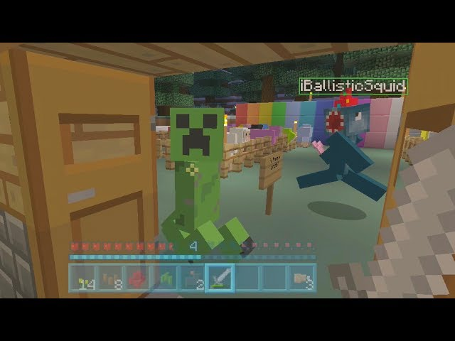 Minecraft Xbox - Rainbow Sheep Challenge - Part 2
