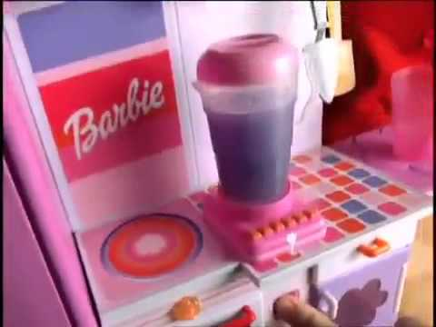 Barbie Mix n Magic Kitchen Commercial