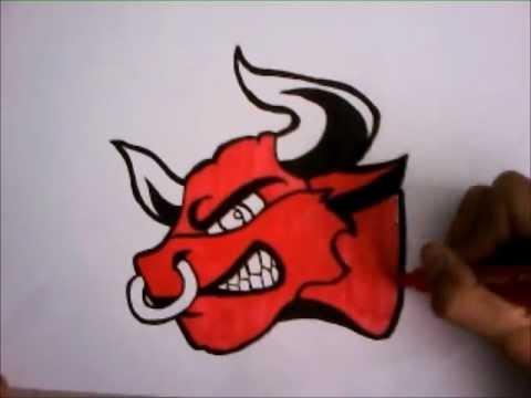 Speed drawing sur papier la vache qui rit pas by - Dessin de toro ...