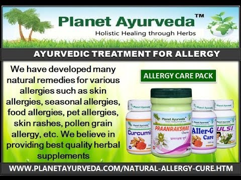 Ayurvedic Medicine for Allergies Treatment - Natural Treatment