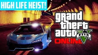 GTA 5 Online: Bank Heist Preparations RARE High Life Car