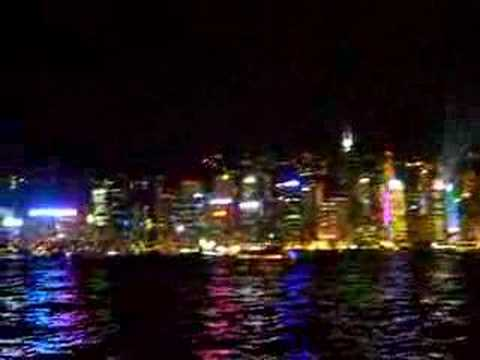 Hongkong daily Laser- and Lightshow