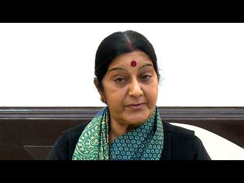 Smt  Sushma Swaraj message for volunteering
