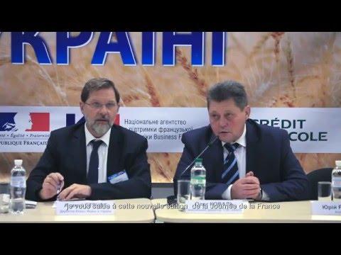 Відео-звіт: Франція на головній сільськогосподарській події року – виставці «ІнтерАгро Комплекс 2015»