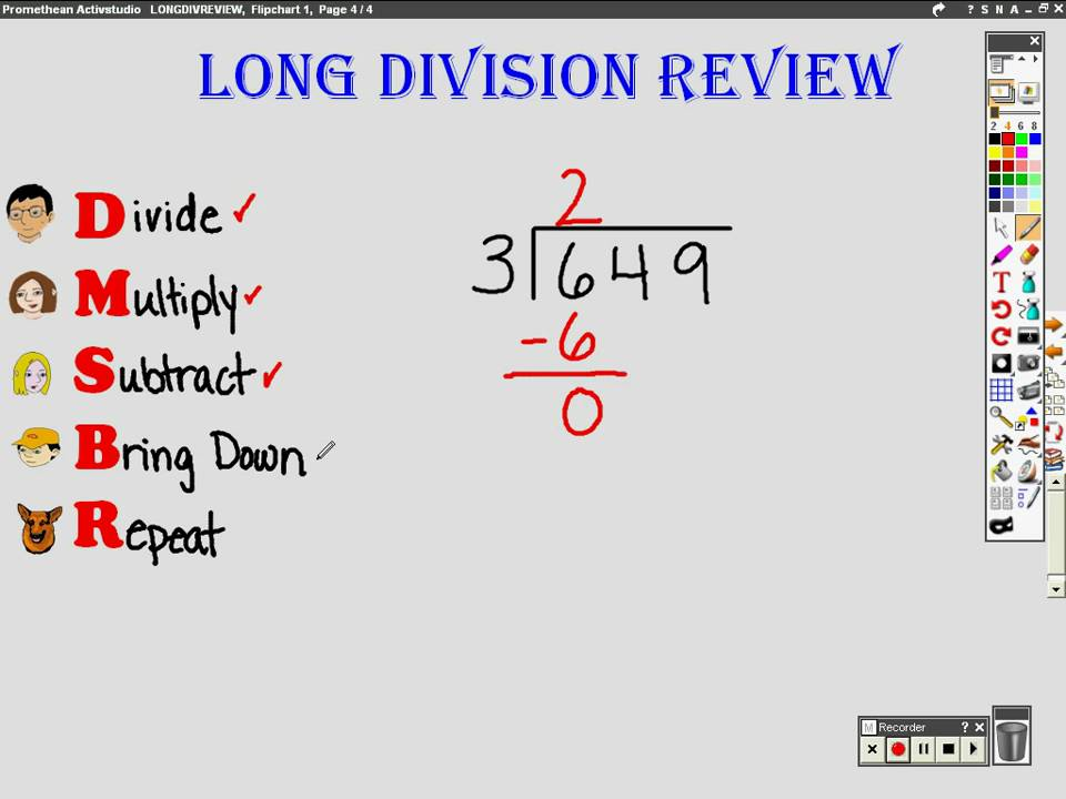 Long Division Review Youtube