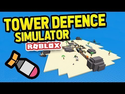 Funny Momment In Tower Defense (Roblox)