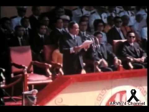 Tổng Thống NGUYỄN VĂN THIỆU đọc diễn văn trong ngày Quân Lực Việt Nam Cộng Hòa 1973