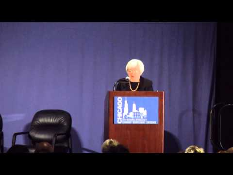 Fed Chair Janet Yellen on What Works at NICRC