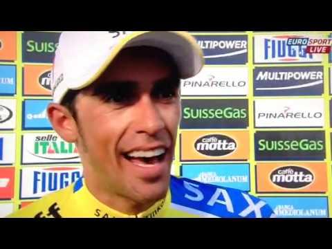 Tirreno Adriatico stage 5 interview