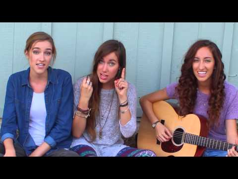 Pharrell Williams - Happy (Acoustic Cover) - Gardiner Sisters