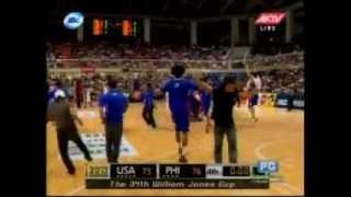 Philippines Vs USA (Jones Cup 2012) Part 2