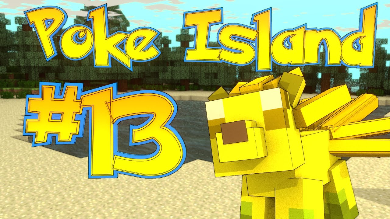 Minecraft | Pixelmon Survival Island EP 13