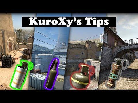 KuroXy's CS:GO Tips #2 [Inferno Top10 Flash]
