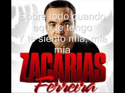 Zacarias Ferreira si pudiera letras