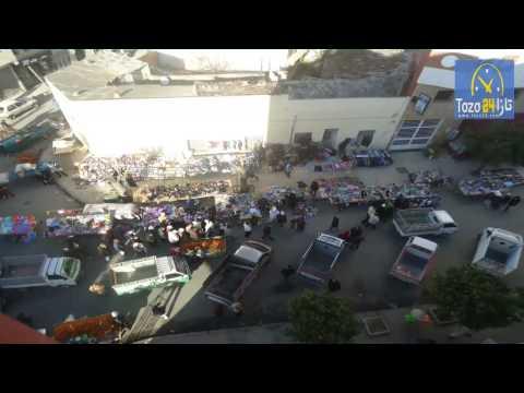 الفوضى تعمُّ أهم شوارع وسط مدينة تازة
