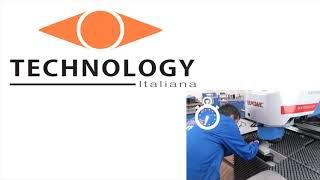 Смена инструмента в координатно-пробивных прессах Technology Italiana