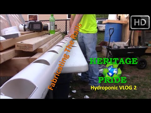 Hydroponic Rail System Build - VLOG 2 by HPFirearms