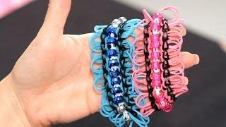 How To Make A Jazzy Jazz Bracelet Rainbow Loom