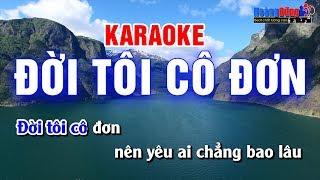 Đời Tôi Cô Đơn Karaoke Nhạc Sống Cha cha cha