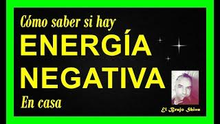 Entérate si hay energía negativa en casa