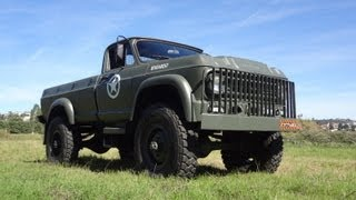 Chevrolet Militar 4x4 Big Foot