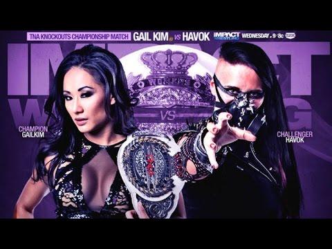 WWE 2K14 Gail Kim Vs HAVOK - TNA Knockouts Champion