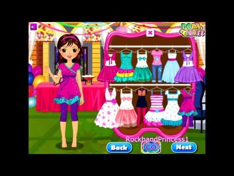 Dora The Explorer - Party Dress Up Game - Dora Games