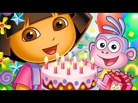 Dora The Explorer: Big Birthday Adventure - Full Game 2014