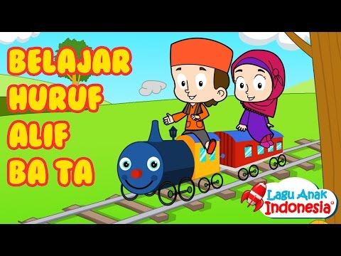 Belajar Huruf Hijaiyah | Lagu Anak Anak Islami | Lagu Anak Indonesia