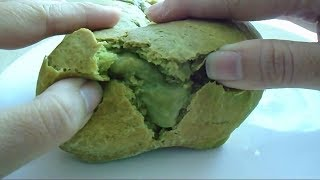 Bánh mì nhân kem trà xanh_Matcha ( Green tea) Lava Bread