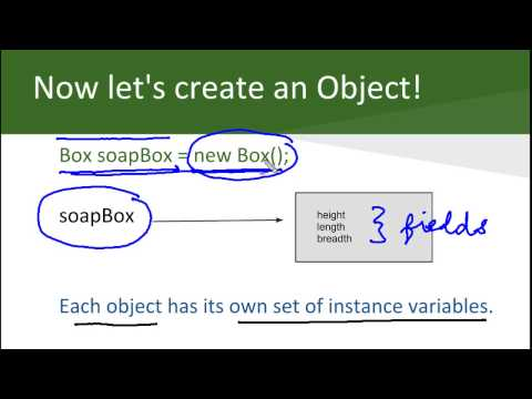 Java Programming Lecture: Classes and Objects - YouTube
