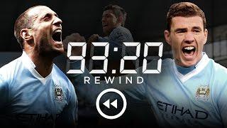 MAN CITY 3-2 QPR | HD Extended Highlights | 93:20 Rewind