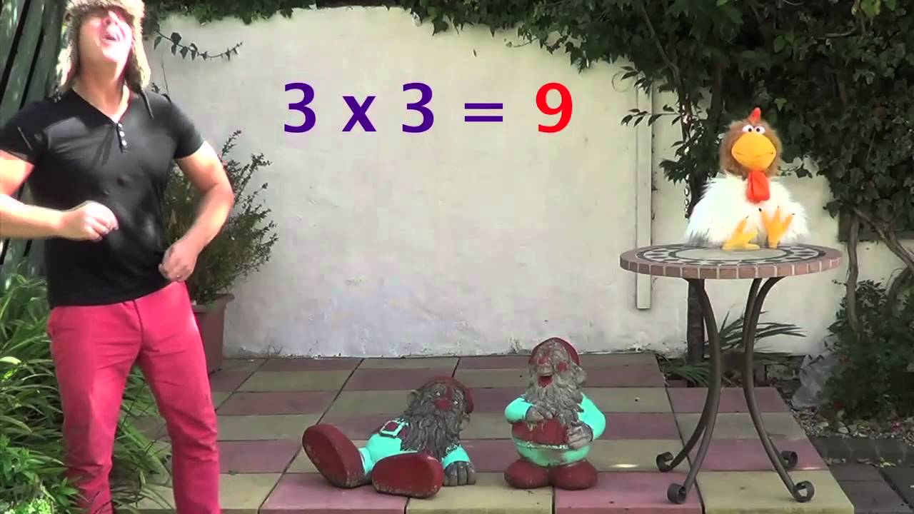 3 x table lesson 3 the three times table for 12 x table song