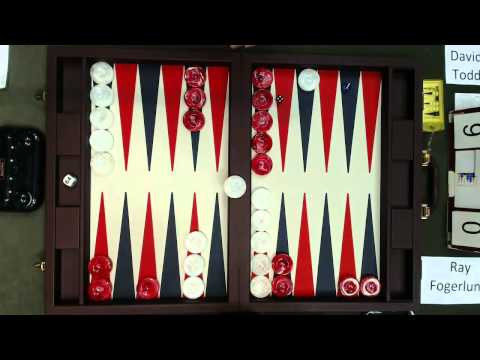 Carolina Backgammon FM R2 Ray Fogerlund v David Todd