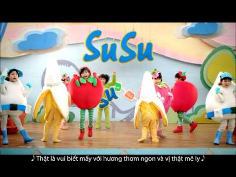 Quảng cáo sữa chua Vinamilk SuSu cho trẻ em 2013