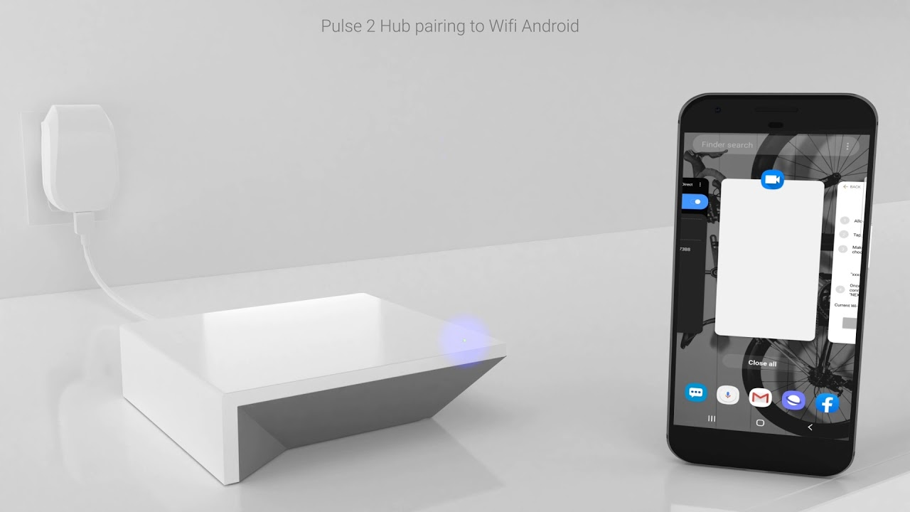 Pulse 2 Hub WIFI pairing Android