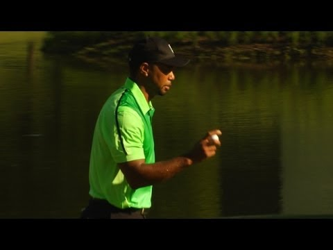 Tiger Woods bogeys No. 10 at Quicken Loans