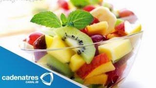 Desayuno nutritivo - Ensalada de frutas