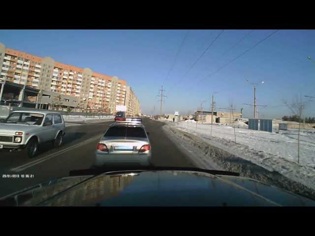 Автоподстава экипажем ПОЛИЦИИ S470KP. Павлодар ГАИ KZ.
