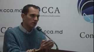 Prezentarea lui Oleg Brega la concursul organizat de CCA