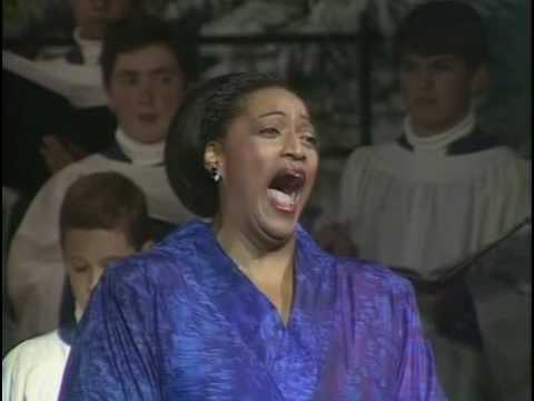 Jessye Norman at Ely Cathedral - Jessye's Carol