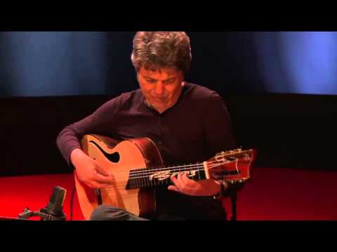 Juan Cerro acompañado de Josete Ordoñez a la guitarra Francisco Bros Mod.