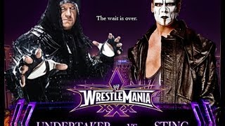 The Undertaker Vs Sting Wrestlemania 30 Promo HD (Streak