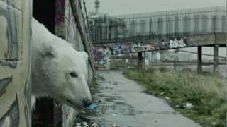 A Homeless Polar Bear in London: Ft. Jude Law and Radiohead