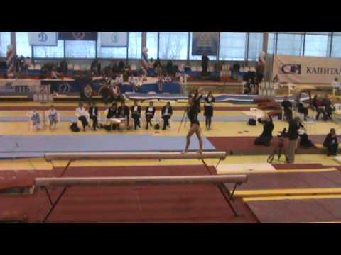 Briana  Michel NZL  Beam Mikhail Voronin Cup