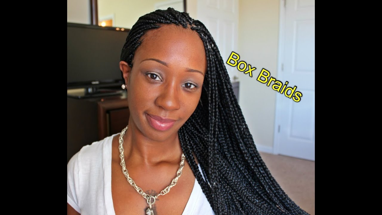 Box Braids! Baby!! (Solange Inspired) - YouTube