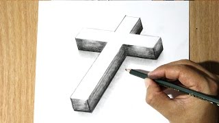 Dibujar una Cruz - Dibujar a Jesus
